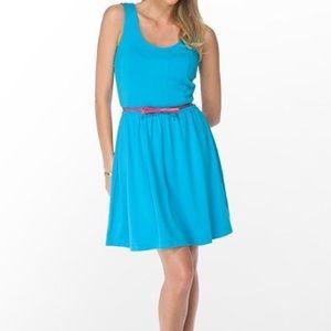 Lilly Pulitzer Agatha Blue A-Line Ponte Dress